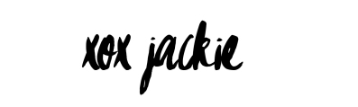 Jackie Signature