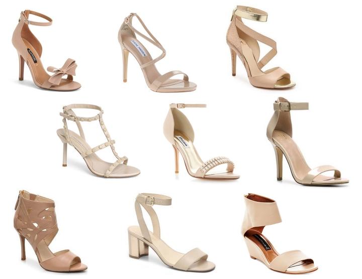 Nude Sandal lineup