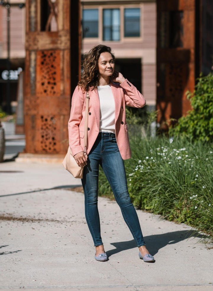 A Versatile Blazer for On + Off theClock