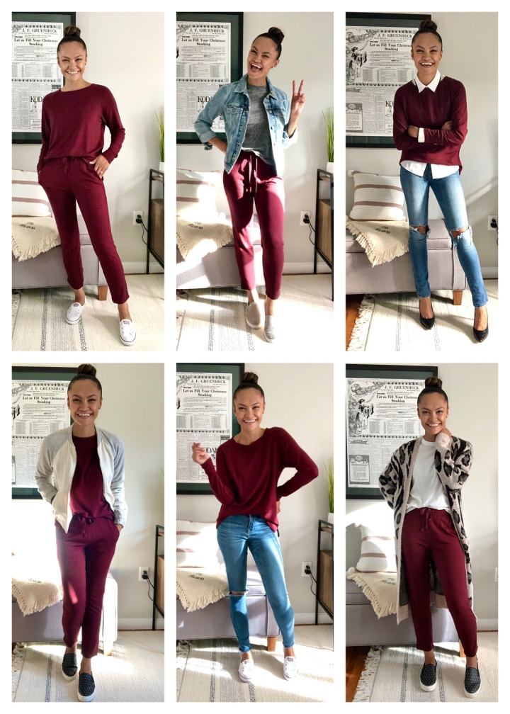 6 Ways to Style A Jogger PantsSet