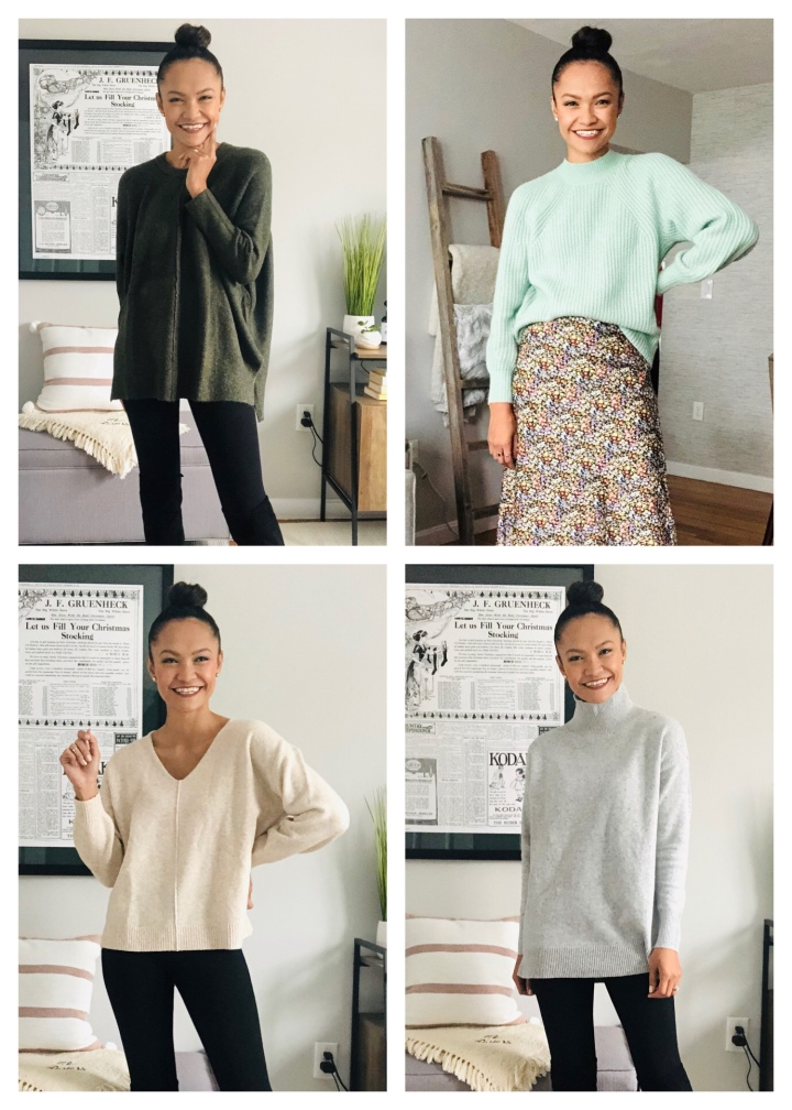 4 New Sweaters For Your EverydayWear